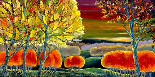 fall colors in Ford Smith art roomsrevamped.com