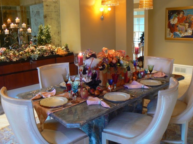 Christmas tablesetting roomsrevamped.com