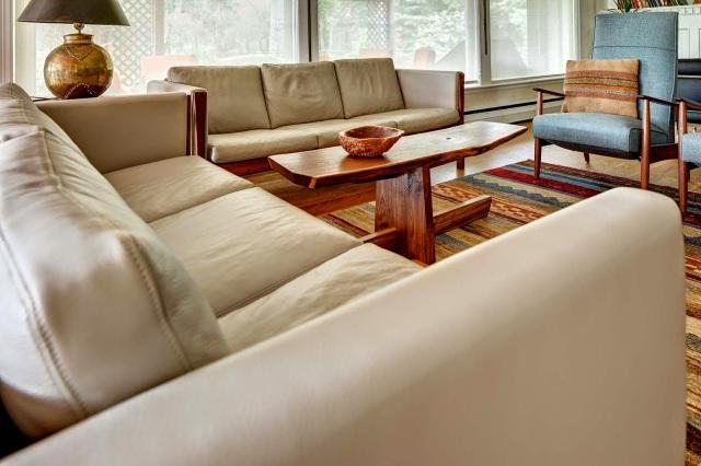 Hans Wegner CH163 sofas for midcentury modern www.roomsrevamped.com
