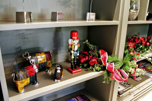 nutcracker watching over my cows on the shelf roomsrevamped.com