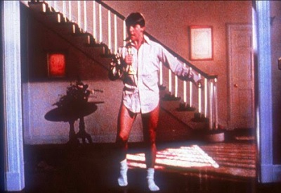Tom Cruise in underwear-Risky Business www.roomsrevamped.com