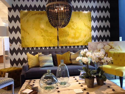 Furniture on display in the Codarus showroom. Rooms Revamped Interior Design