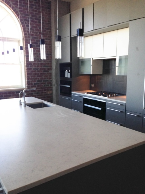 Modern Loft: The Rest of the Design Project with the Poggenpohl Kitchen by Robin LaMonte/Rooms Revamped Interior Design
