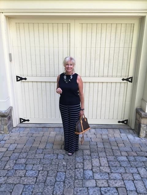 Fashion over 50:  The Horizontal Stripes Myth