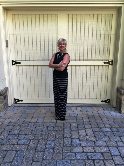 Horizontal stripes will make you look taller