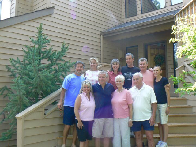 The last time my entire family was together for a family reunion was in 2008