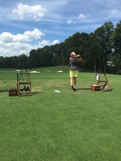 Robin LaMonte playing golf | Over 50 Fitness | Hello I'm 50ish