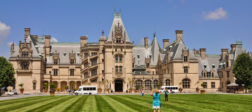 In front of the Biltmore