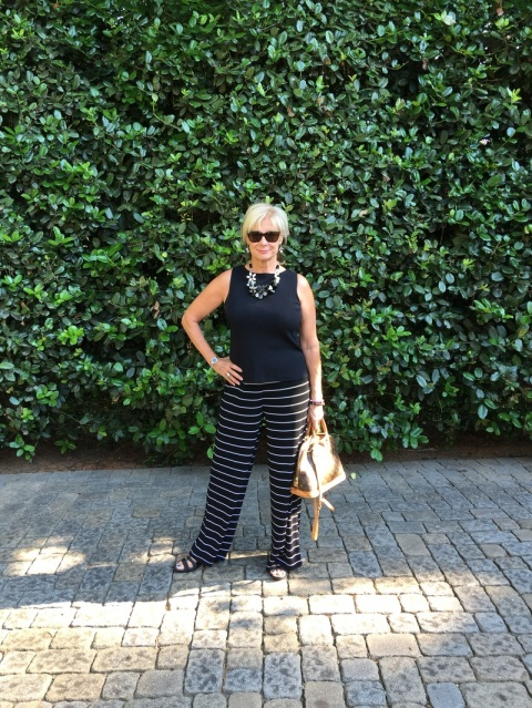 Horizontal stripes will make you look thinner