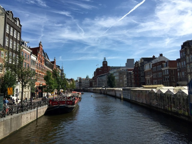 I highly recommend taking a canal boat tour and seeing Amsterdam from another perspective.