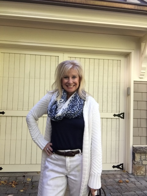 Fashion over 50: It's Sweater Weather in Atlanta! Hello I'm 50ish