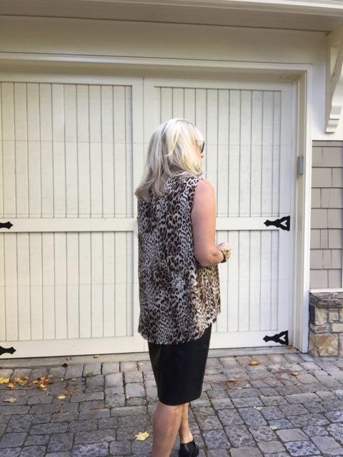 Fashion Over 50:  Leopard Print Date Night