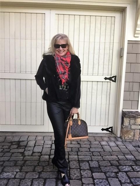 Fashion over 50: Daytime Working Girl Holiday Style- Hello I'm 50ish