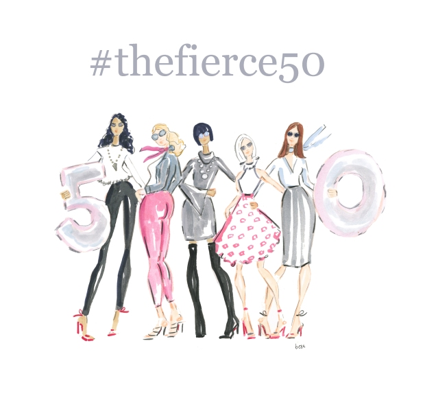 the fierce 50 campaign