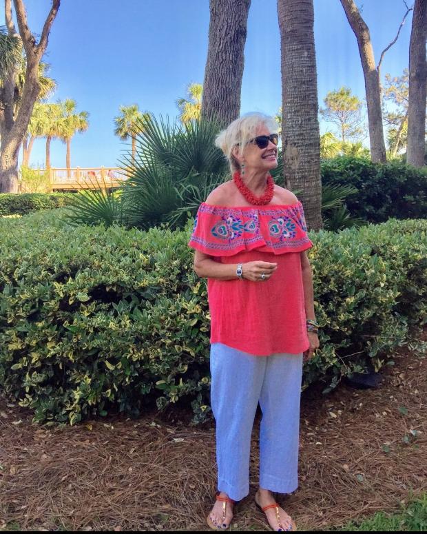Fashion Over 50: Date Night in Hilton Head
