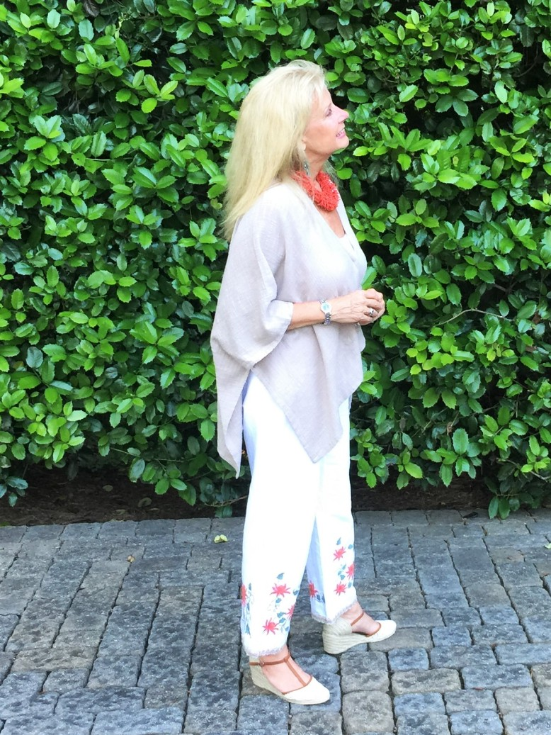 Summer's Hottest Look- Embroidered Pants